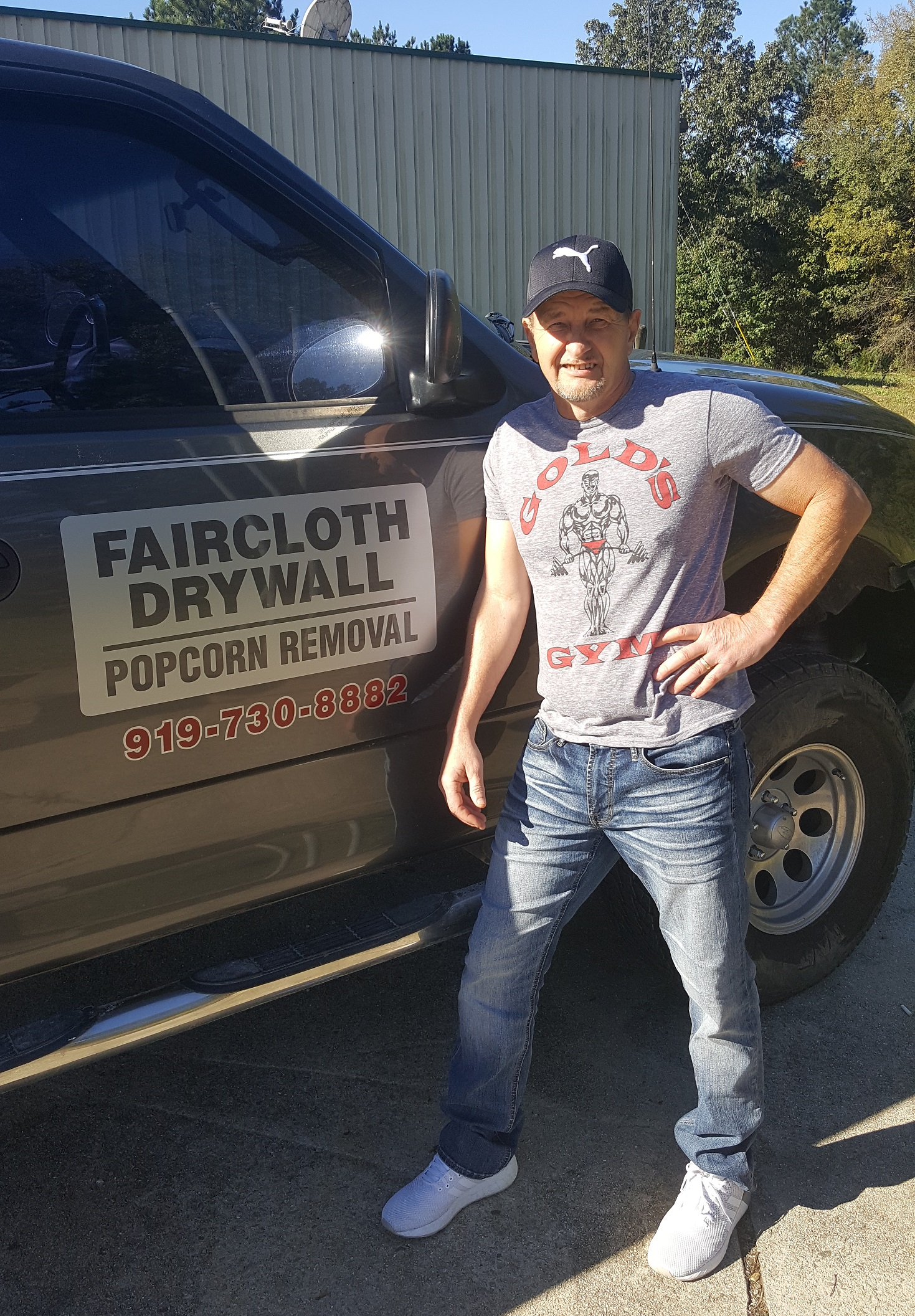 Popcorn Texture Removal Expert Mike Faircloth of Faircloth Drywall